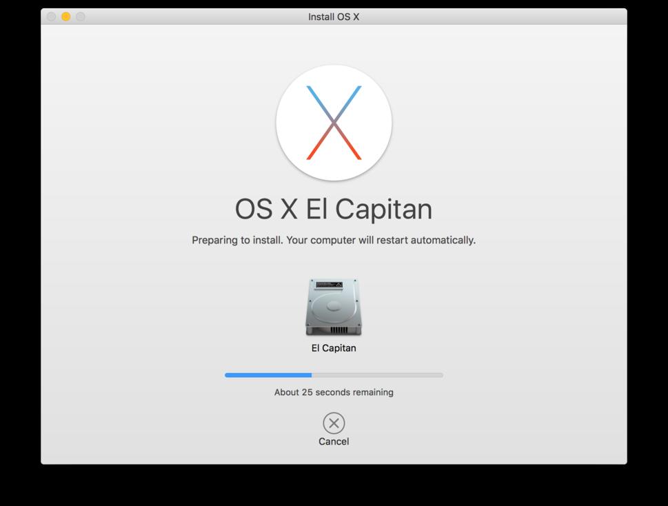 Refurbished Mac reinstalled software