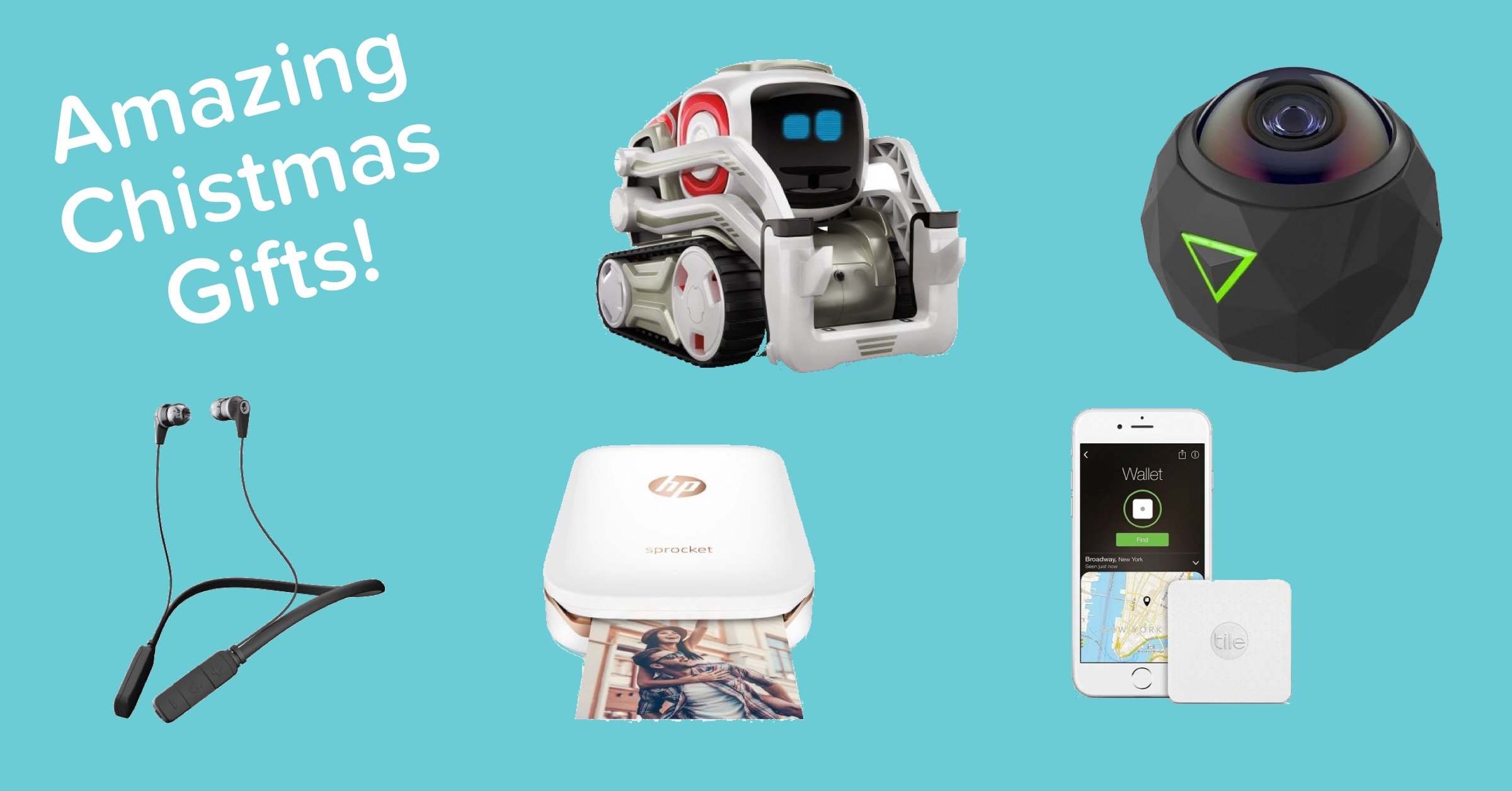 5 Amazing Tech Gifts for Your Friends and Family This Christmas