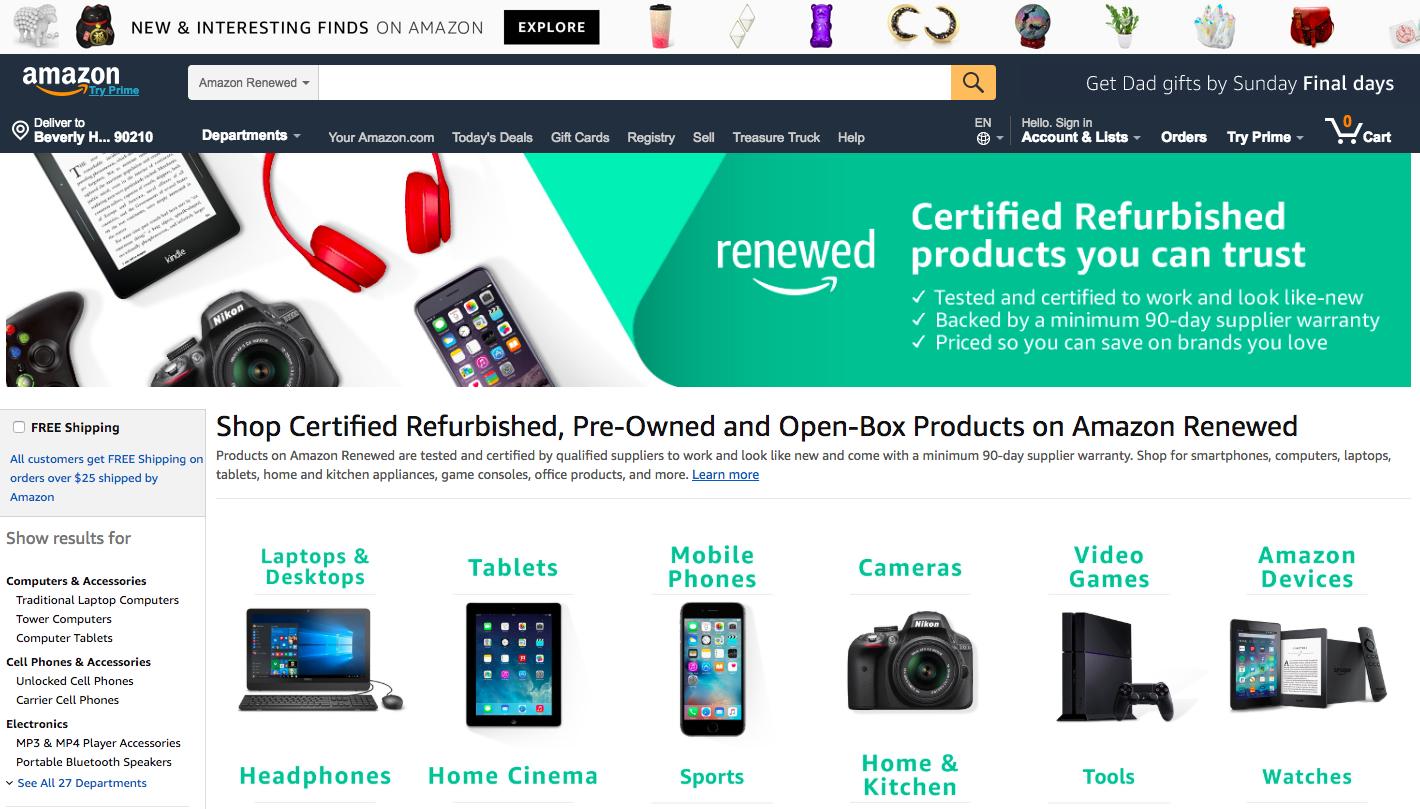 amazon-places-to-buy-refurbished-phones