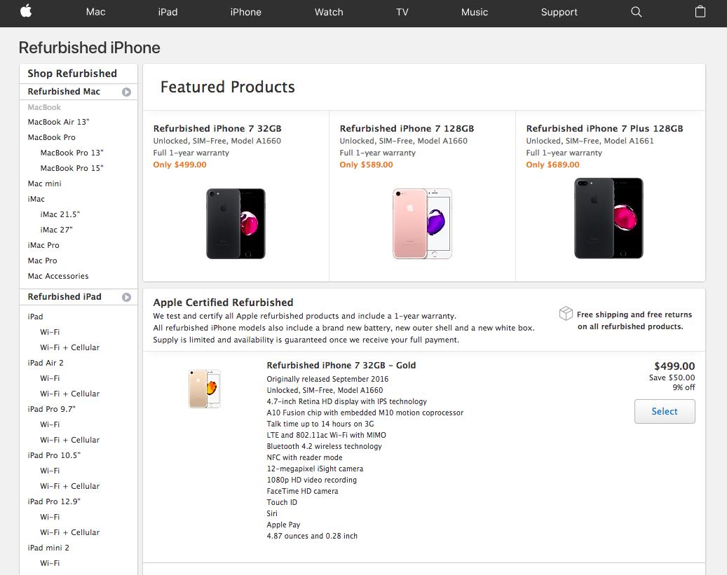 apple-refurbished-iphone-sales-reviews