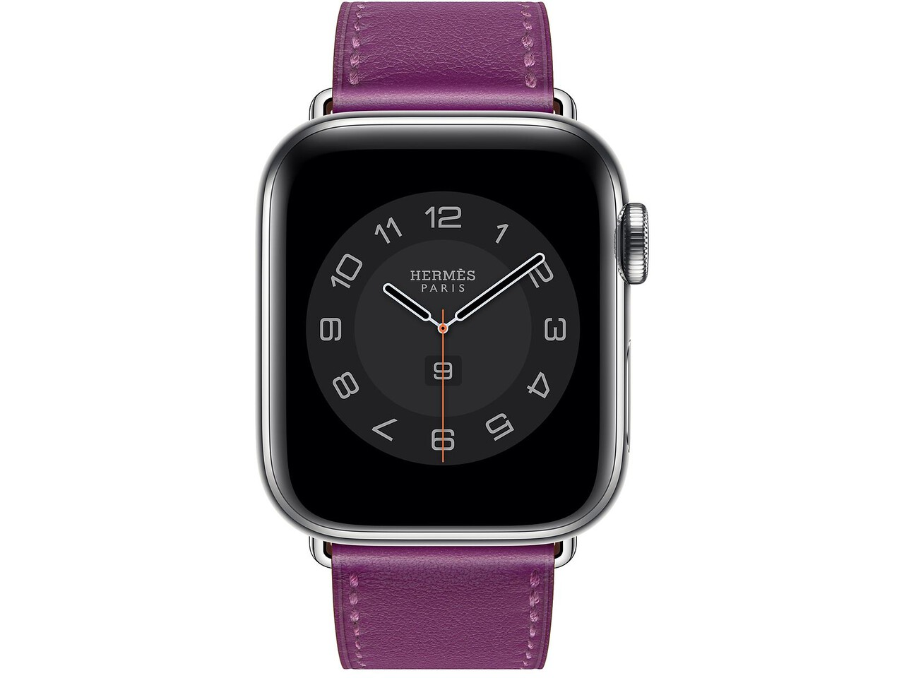 apple watch hermes series 6 cellular 40mm silver stainless anemone double tour