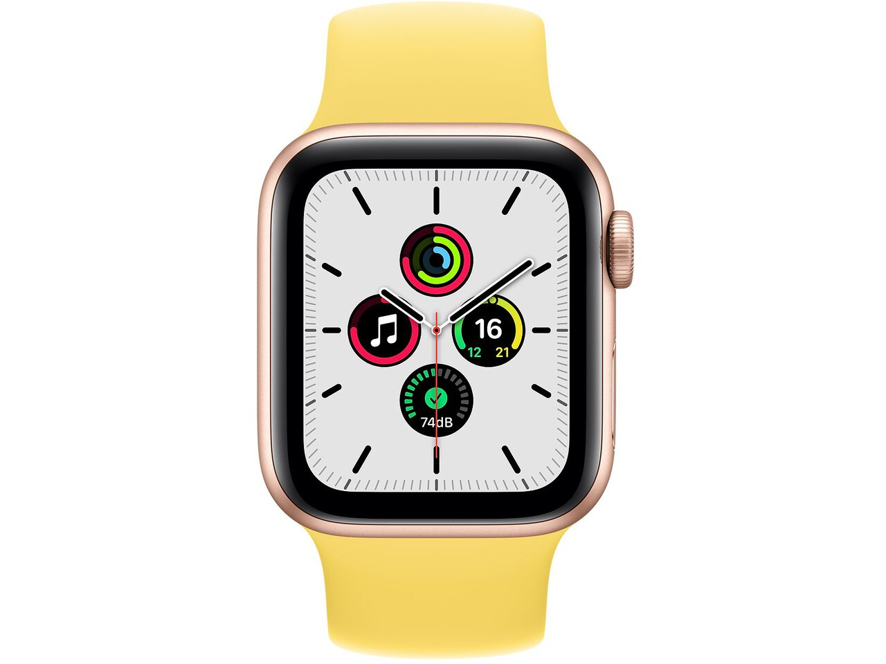 apple watch se 40mm gold aluminum ginger solo loop