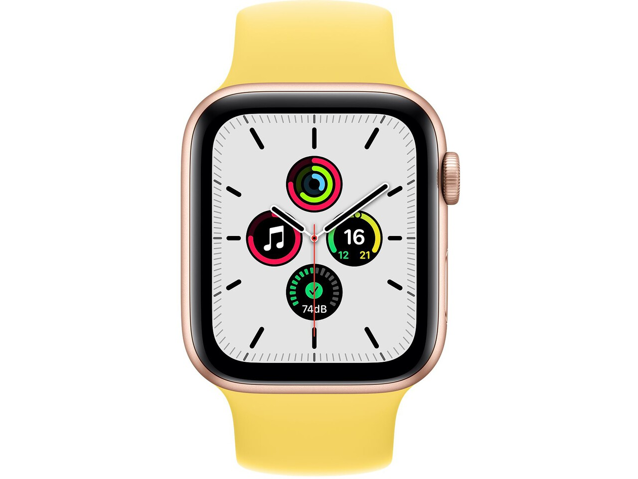 apple watch se 44mm gold aluminum ginger solo loop