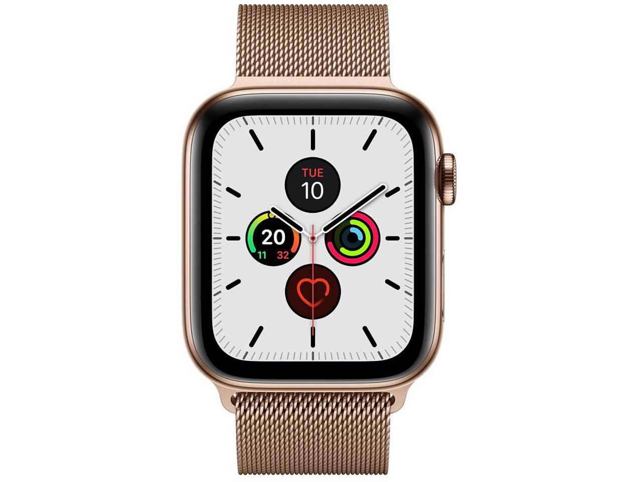 apple watch series 5 cellular 44mm gold stainless steel gold stainless steel