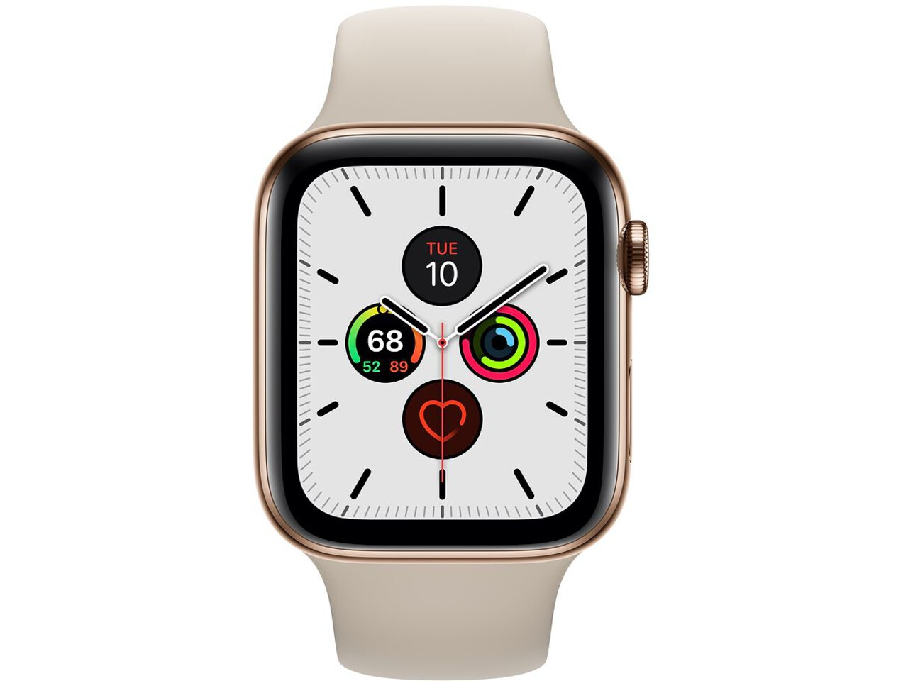apple watch series 5 cellular 44mm gold stainless steel stone sport band