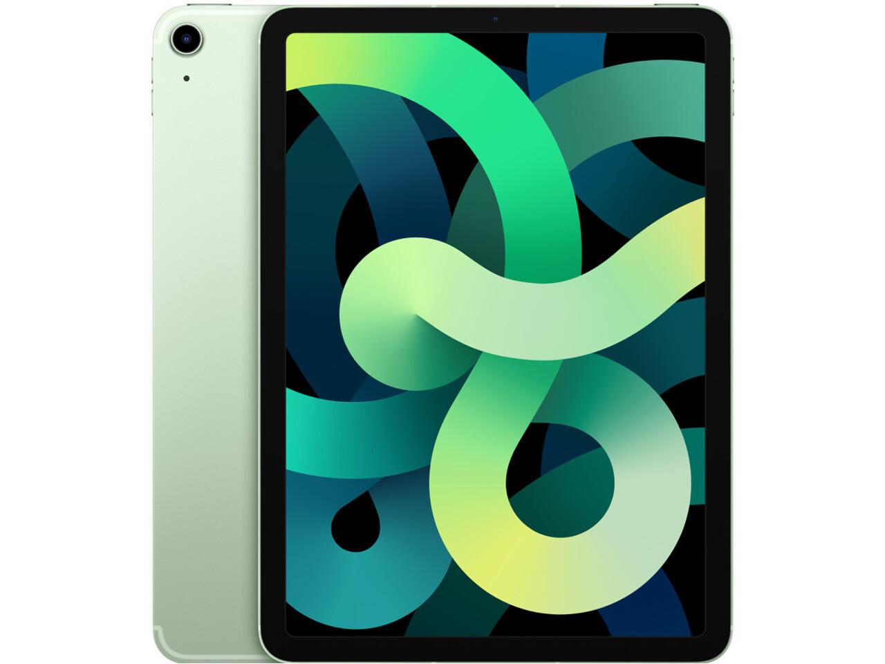 ipad air 4 cellular green