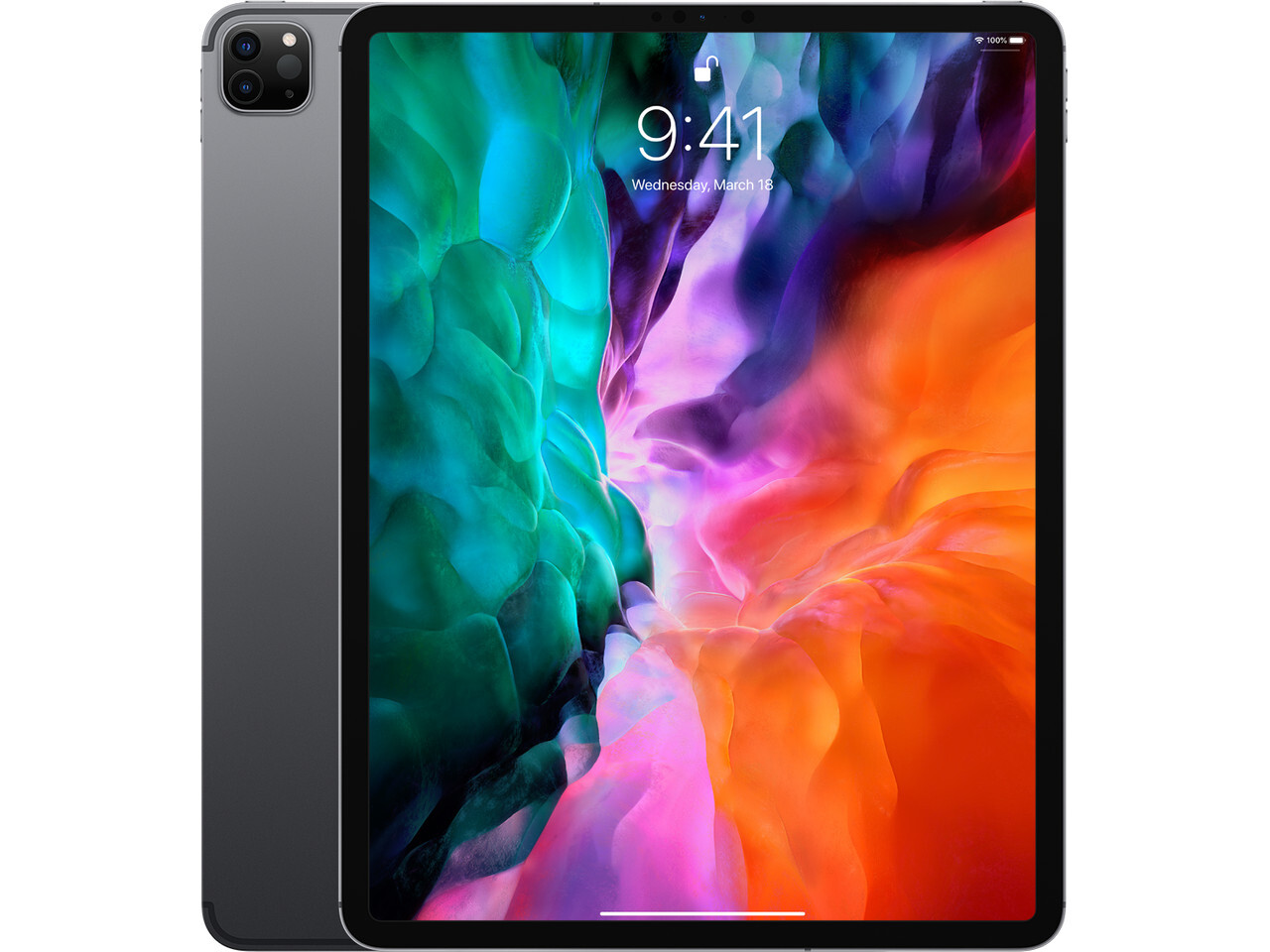 ipad pro 4 12 inch cellular space gray