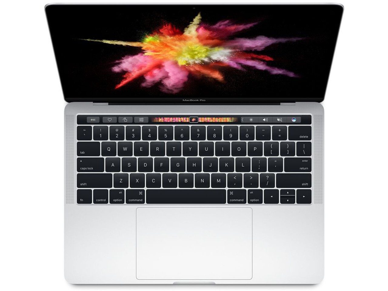 macbook pro 13 inch touch bar 2016 silver