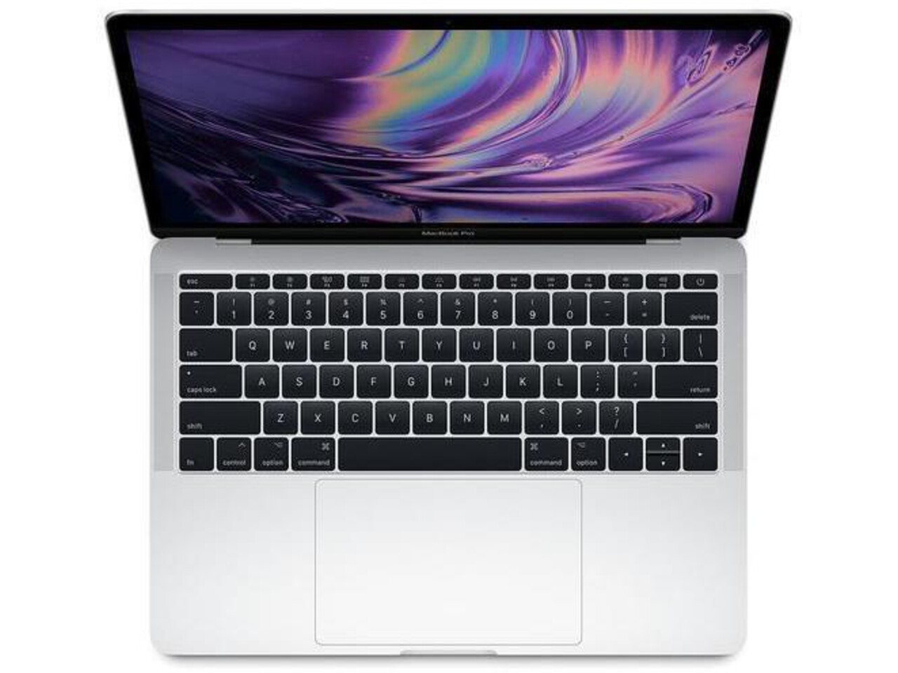 macbook pro 13 inch touch bar 2018 silver