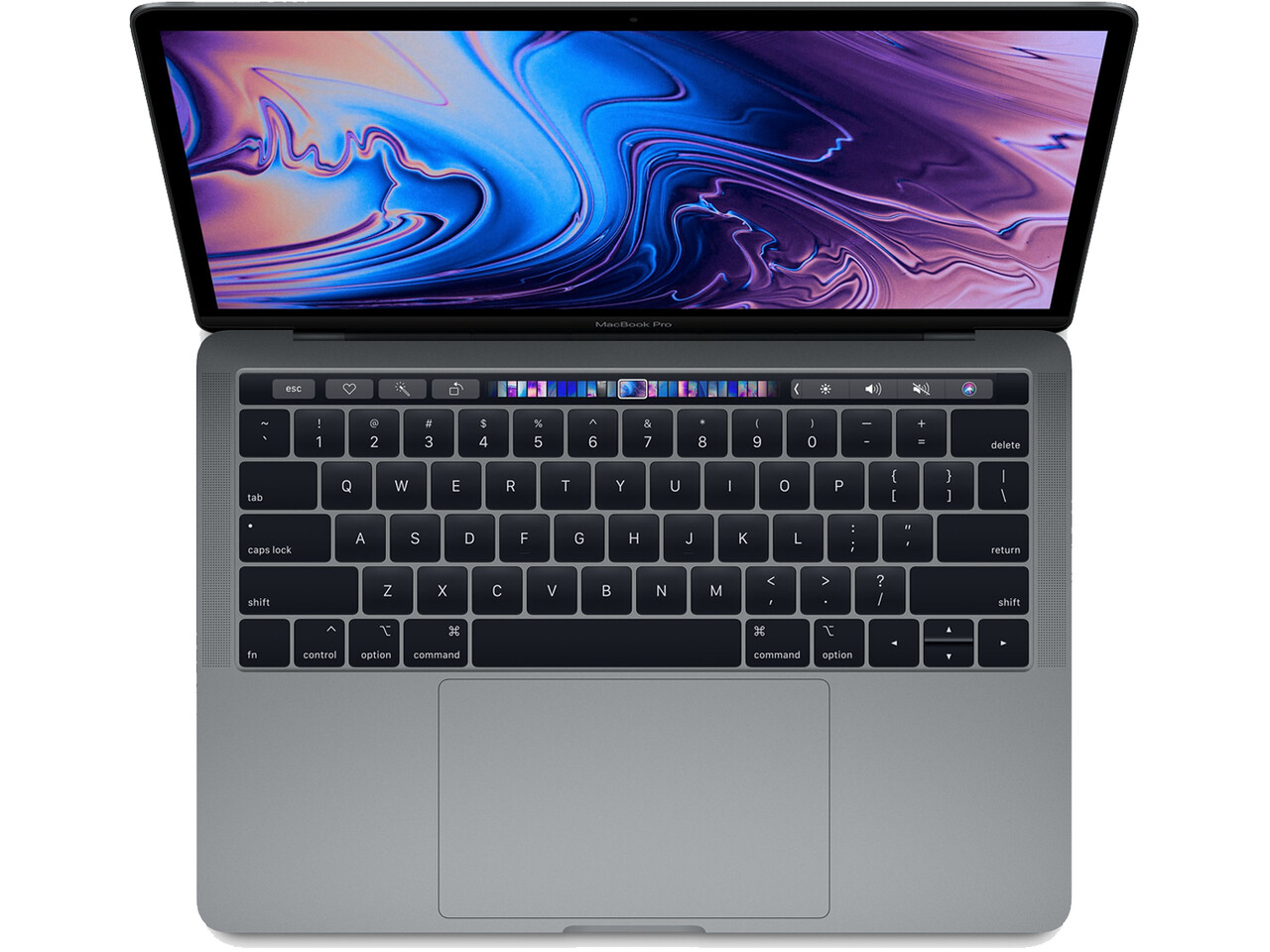 macbook pro 13 inch touch bar 2018 space gray