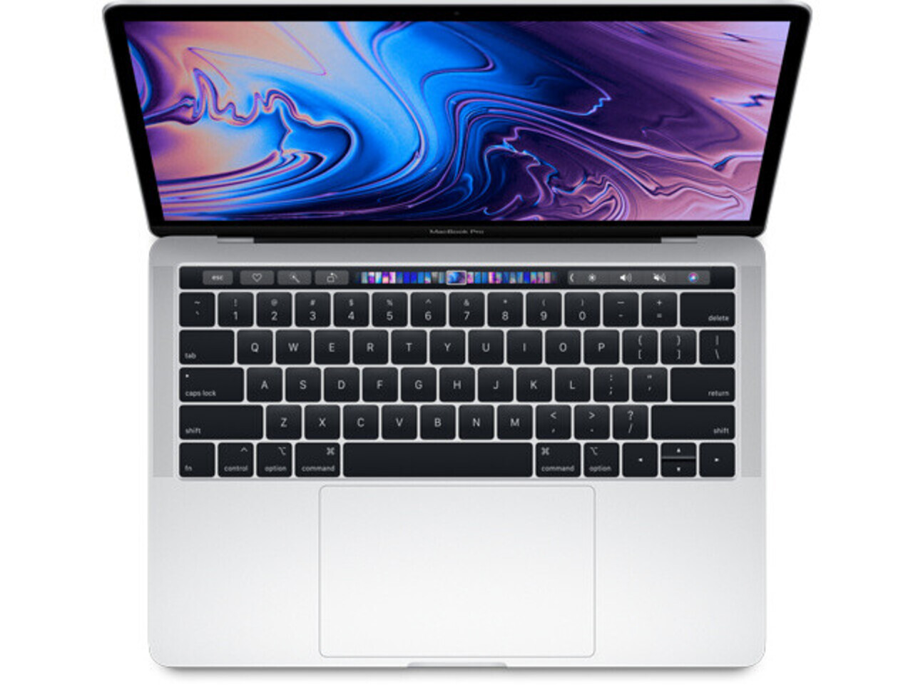 macbook pro 13 inch touch bar 2019 silver