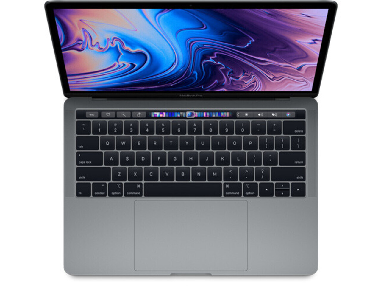 macbook pro 13 inch touch bar 2019 space gray
