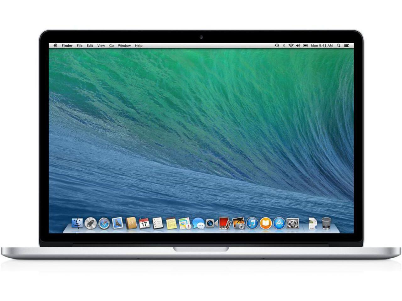 macbook pro 15 inch 2013 silver