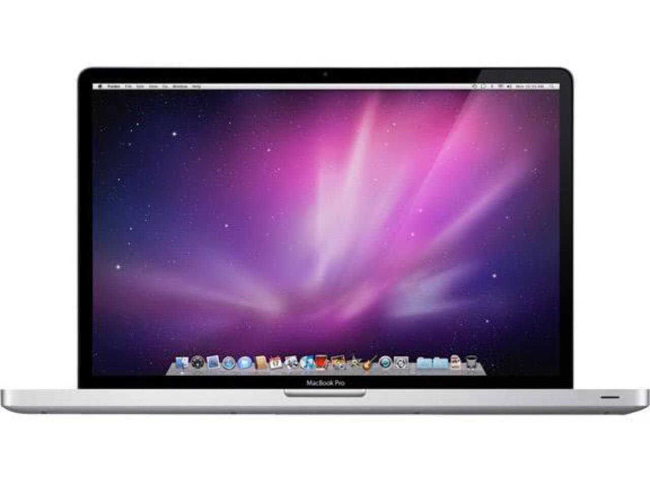 macbook pro 15 inch nr 2010 silver