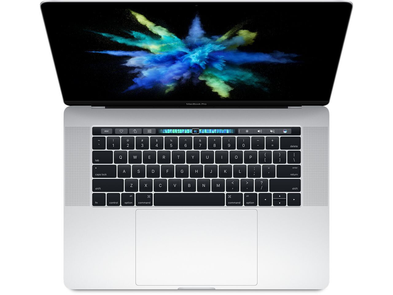 macbook pro 15 inch touch bar 2016 silver