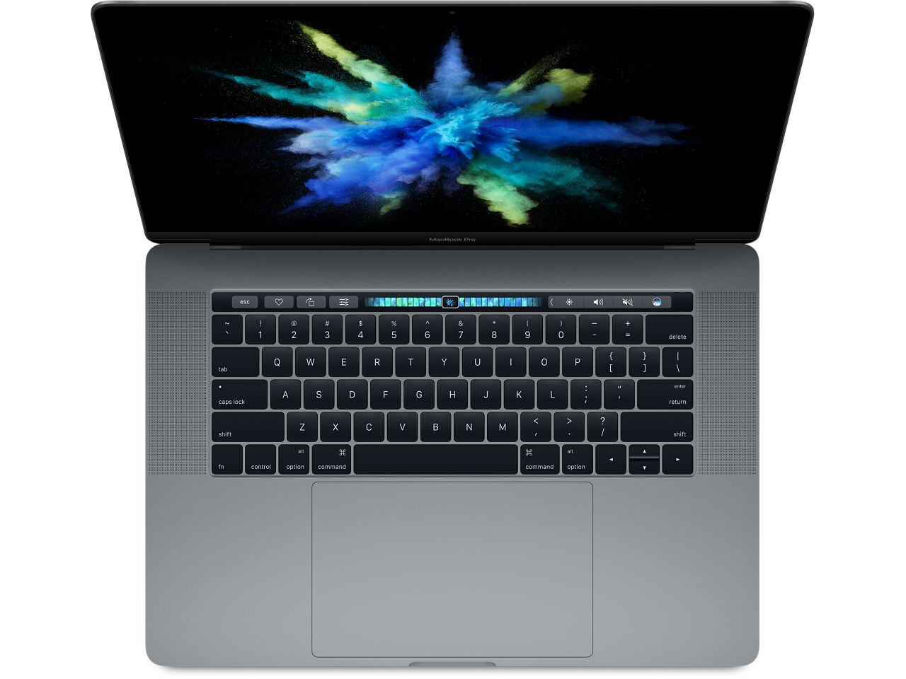 macbook pro 15 inch touch bar 2016 space gray
