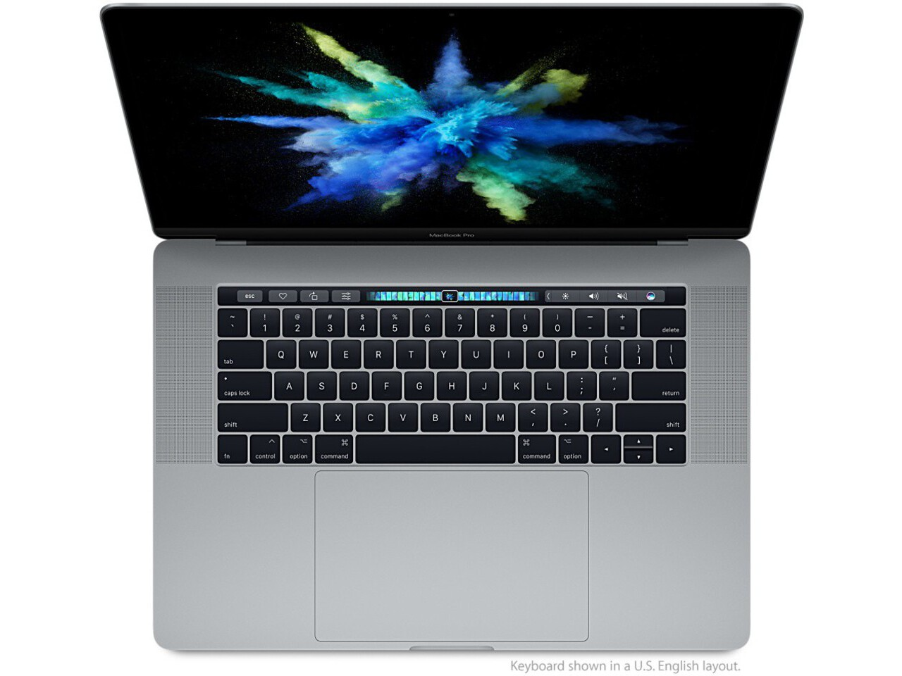 macbook pro 15 inch touch bar 2017 space gray