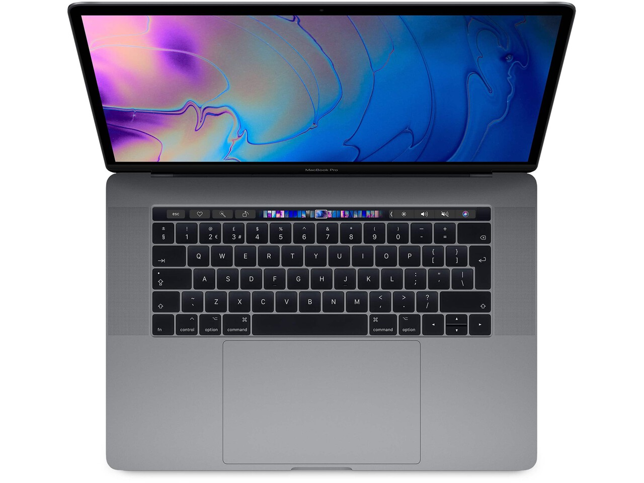 macbook pro 15 inch touch bar 2018 space gray