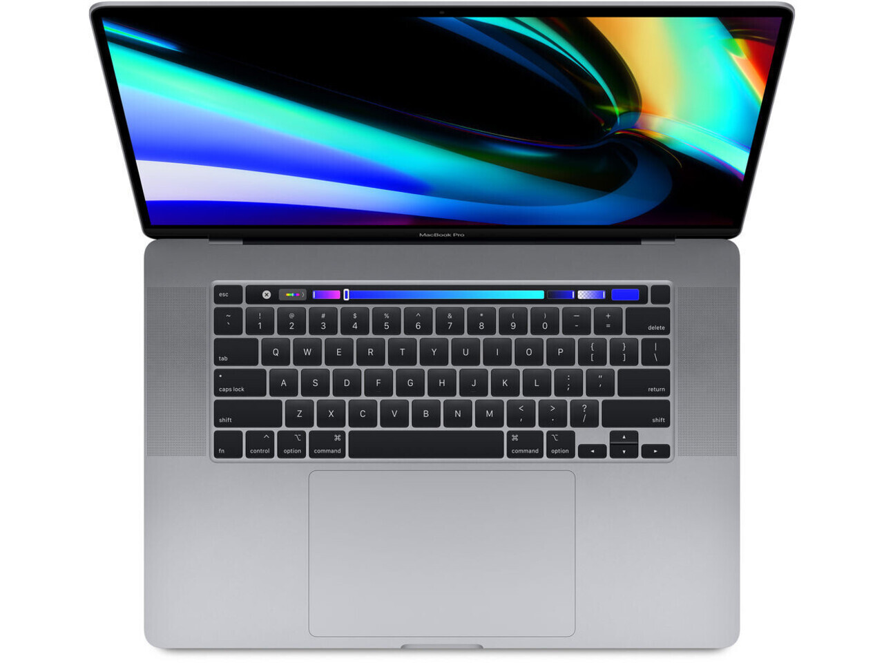 macbook pro 16 inch touch bar 2019 space gray