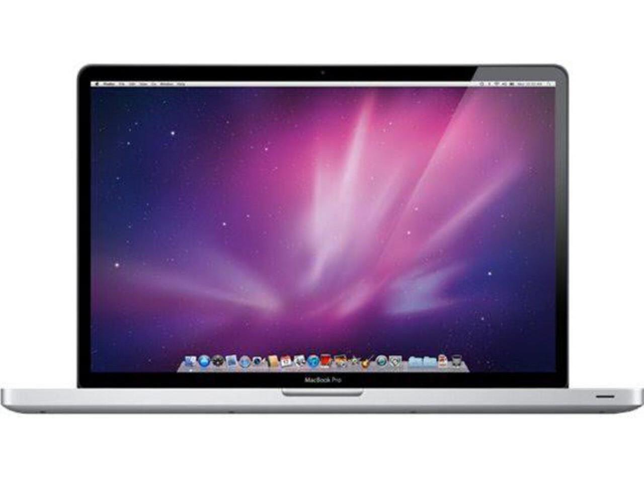 macbook pro 17 inch nr 2010 silver
